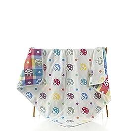 Baumwolle Infant verdeckt Kinder Decken Handtücher Baby Handtücher Weich und Cozy Baby Receiving Kuscheldecken Multi Farbe