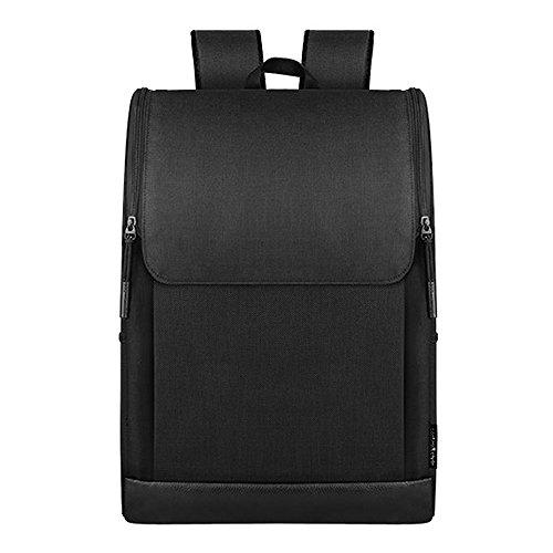 Wsnh888 borsa per studenti borsa per studenti borsa per uomini e donne semplice zaino da viaggio per zaino da viaggio per studenti di grande capacità,black