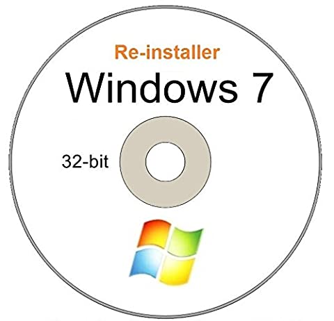 WINDOWS 7 Professional 32 - Bit Compatible Versions Re-install Windows Factory Fresh! Recover, Repair, Re Install - Restore Boot Disc ~ Fix PC - Laptop - Desktop