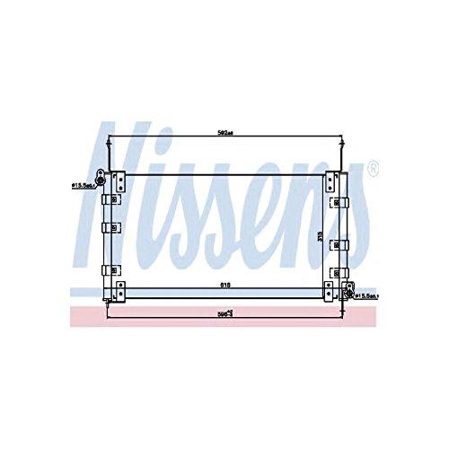 Preisvergleich Produktbild Nissens 94437 Kondensator, Klimaanlage