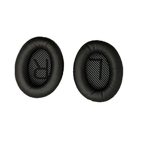 Preisvergleich Produktbild ForceSthrength Anwendbar auf Dr. Bose Qc35 Ohrenschützer Schwamm Ohrenschützer Baumwolle Kopfhörer Schutzhülle Schwarz
