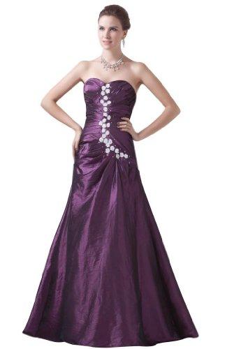 Lemandy - Robe - Sans Manche - Femme violet violet Refer to the image