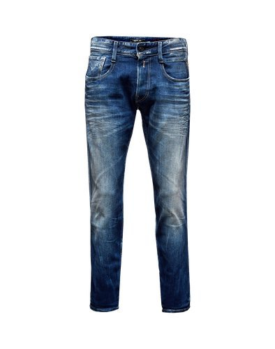 Replay - Pantaloni Slim Jeans da uomo Anbass Blu (Blue Denim 9) 30W x 34L