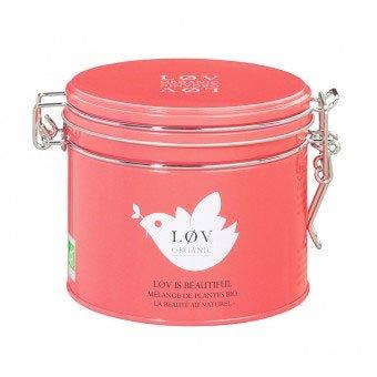 Løv is Beautiful - Mischung aus Tees, Rooibos und gelben Früchten, aromatisiert