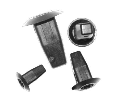 myshopx C82 Plastik Nieten Schlagniete Druckniete Clips Unterfahrschutz Befestigung Clips Türverkleidung Klammern Stoßstangen Befestigung Clips Stoßfänger Zierleiste Radlauf