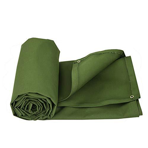 YXNN Cubierta Acolchada Exterior para Camionetas De Lluvia Protectora Solar Cubierta De Tela De Tela Verde 0.55mm (Tamaño : 2 * 2M)