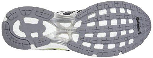 adidas Herren Adizero Adios Laufschuhe Weiß (Footwear White/trace Grey Metallic/solar Yellow)
