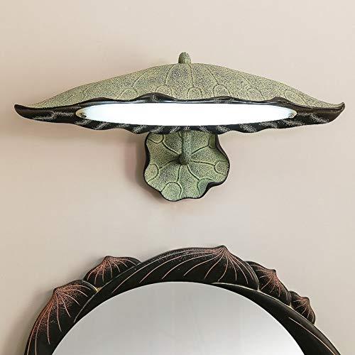 Moderne neue chinesische spiegellampe toilette bad kabinett kommode beleuchtung kreative antike kunst wandleuchte - Kunst-kabinett