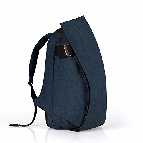 TBB-Rucksack Rucksack Reisen Outdoor Mode einfach Trend der großen Kapazität Computer Bag Small Blue