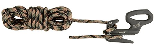 Nite Ize Figure 9 Seil, Schwarz, L, NI-F9L-03-01CAMO