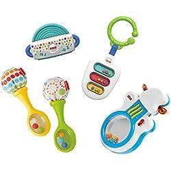 Fisher-Price - Pack sonajeros musicales (Mattel FFV62)