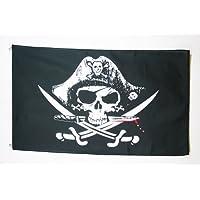 AZ FLAG Pirate Deadman Chest Triconner Flag 4