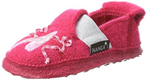 Nanga Mädchen Ballet Hausschuhe, Pink (Fuchsia), 29 EU