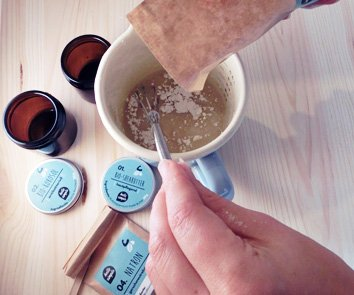 hello simple - DIY Deocreme/Creme Deodorant zum Selbermachen (150 g, 2 Stück), Naturkosmetik ohne Aluminium, vegan, bio, plastikfrei (Limette-Zypresse) - 3