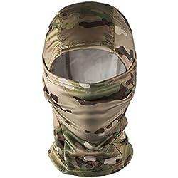 OneTigris Cagoule/Masque/Balaclava Tactique Militaire De Protection Complet Pour Airsoft Cyclisme Moto (Camo)
