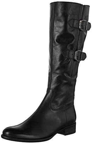 Gabor Shoes Damen Fashion Stiefel, Schwarz (27 Schwarz), 37 EU (Stiefel Damen Schwarz Fashion)