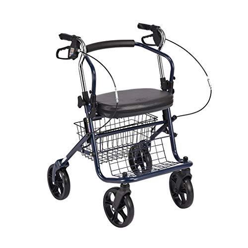 Old Man Trolley, se Puede sentar Carrito Compra Old