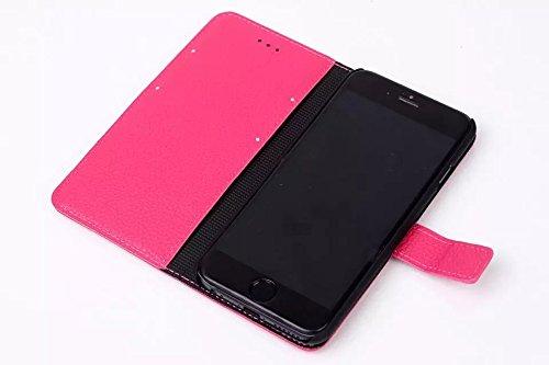 iPhone Case Cover zu haut muster lederetui decken für das iphone 6 65 ( Color : Brown , Size : IPhone 6 6s ) Rose
