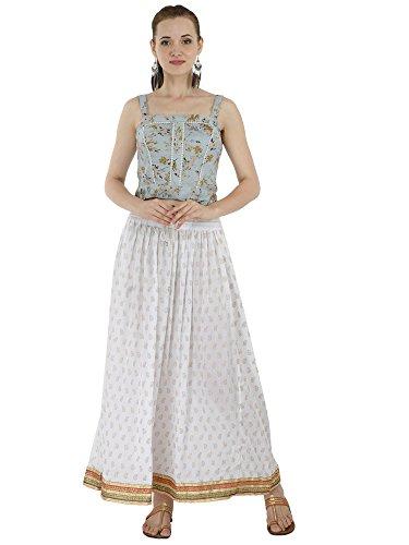Vestido de Playa de Verano de Las Mujeres Falda Maxi Floral Ocasional  Vestido de Cintura Elástica 7c1ab1eaa496