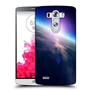 Snoogg sunrise from space Designer Protective Back Case Cover For LG G3