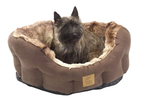House of Paws Arctic Snuggle Dog Bed, Small, 18-inch