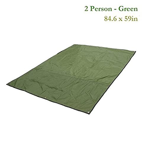 Topnaca® 2-3-4 Person Outdoor Thickened Oxford Fabric Camping Shelter Tent