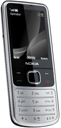 Nokia 6700 classic matt steel (UMTS, GPRS, Bluetooth, Kamera mit 5 MP, Musik-Player) UMTS Handy