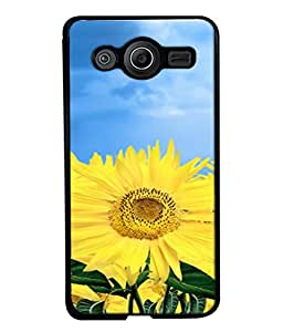 FUSON Designer Back Case Cover for Samsung Galaxy Core I8260 :: Samsung Galaxy Core Duos I8262 (Field With Bright Blue Sky Summer Sunlight Leaves)