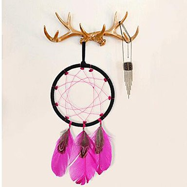 41q%2ByCU4IBL UK BEST BUY #1HHBO 2PC Dream Catcher Decor Hanging With Feathers Hanging Decoration Dreamcatcher Net India Style Hourse Decoration Luminous price Reviews uk