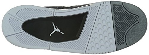 Nike Herren Black Basketballschuhe 23 011 Flight White Metallic Silver Jordan Schwarz rtywB6rq