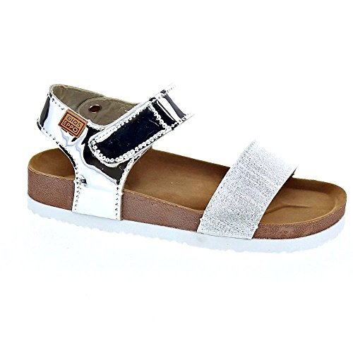 Gioseppo Sandalia Bio Niña Velcro - Plata
