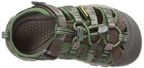 Keen Newport H2, Scarpe da Arrampicata Basse Unisex – Bambini Marrone (Cascade Brown Kamo)