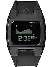 Nixon Lodown TI II A503001-00 - Reloj unisex, correa de plástico color negro