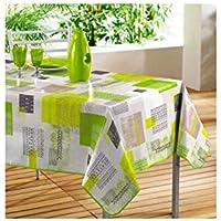 vert nappes linge de table cuisine maison. Black Bedroom Furniture Sets. Home Design Ideas