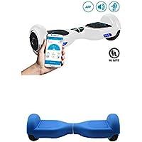 """SmartGyro X2 blanco, 6.5"""" + Cover blue"""