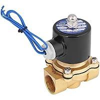 Elektrisches magnetisches Magnetventil Xinrub R3/4 DC12V mit normaler geschlossener Zink-Legierung für Wasser, Luft, Öl