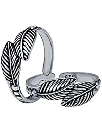 CS Jewellers Fortitude Silver Toe Ring