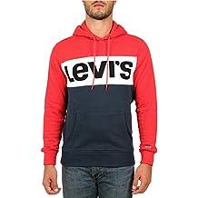 Levis Sweat Levis 56613 Colorblock Rouge f9feb71c1282
