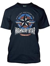 Deep Purple inspired Highway Star Motor Oil, Herren T-Shirt