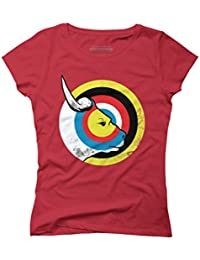 bulls eye Women's Graphic T-Shirt - Design By Humans