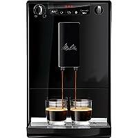Melitta Caffeo Solo Cafetera Molinillo, 15 Bares, Café en Grano para Espresso, Limpieza Automática, Personalizable, 1400 W, 1.2 litros, Plástico, Pure Black