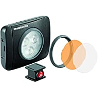 Manfrotto Lumimuse 3 - Luz LED y accesorios, color negro
