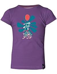 ABK Super Mousse Tee Camiseta de Manga Corta, Niños, Morado (Violet), XXS
