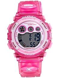 2006d5183ad1 JewelryWe Relojes para Niños Niñas Digital Reloj Deportivo para Aire Libre