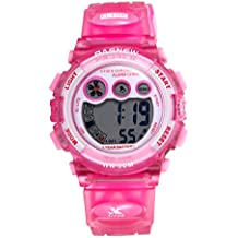 JewelryWe Relojes para Niños Niñas Digital Reloj Deportivo para Aire Libre, Simpatico Reloj Infantil De