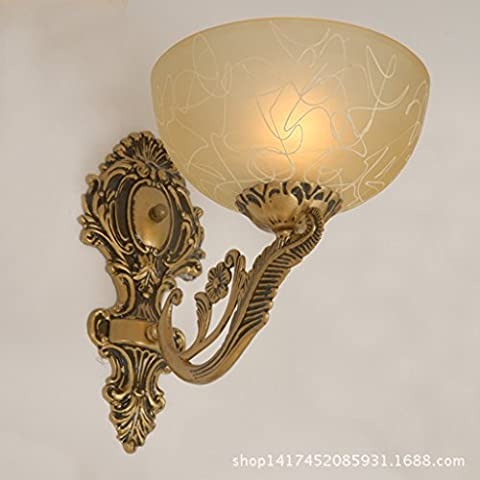 Lámpara de pared de interior / exterior / de noche / euro / pared / E27 220V / bombillas no incluidas /