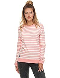 Ragwear Glorious Stripes Mujer fémina Sudadera de Manga Larga,Camisa, ...