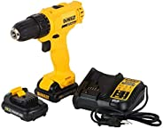 Dewalt DCD700C2A-IN 12V, 10mm XR Li ion Cordless Impact Drill Driver with 2x1.3 Ah Batteries + 109 Pieces Acce