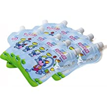 Fill n Squeeze 30 x Refill Pack of Reusable Pouches For Babies and Toddlers 30 x 150 ml to be used with Fill n Squeeze Pouch Filling System. Great Bags For; Weaning, Travel, Pureed Fruit, Organic & Homemade Baby Food, Babies Toddlers & Kids