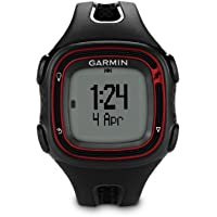 Garmin Forerunner 10 GPS Running Watch - Large, Black/Red